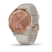 vívomove® 3S - Rose Gold Stainless Steel, Light Sand Silicone