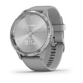 vívomove® 3 - Silver Stainless Steel, Powder Gray Silicone