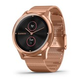 vívomove® Luxe - 18K Rose Gold PVD Stainless Steel, Rose Gold Milanese